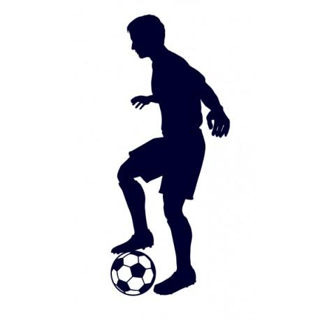 Samolepka na auto-fotbal 05