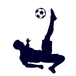 Samolepka na auto-fotbal 06