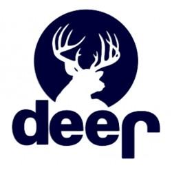 Nálepka na auto pro myslivce - jelen- deer