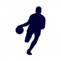 Samolepka na auto- Basketbal 01