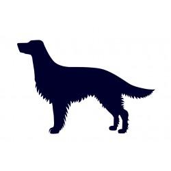Samolepka na auto-pes v autě - Anglický setr