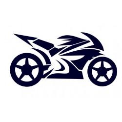 Samolepka na auto-motorka