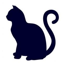 Samolepka na auto - kočka 09