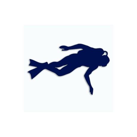 Samolepka na auto-potápění