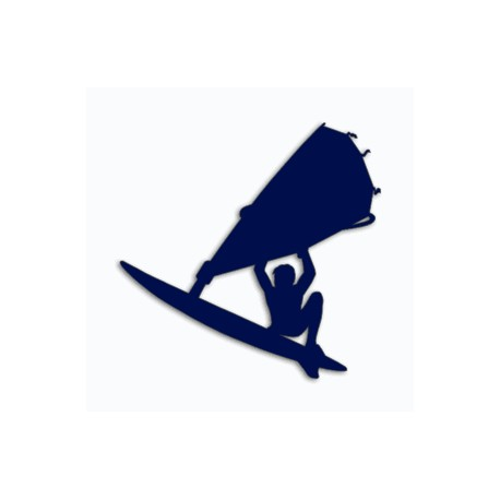 Samolepka na auto-windsurfing