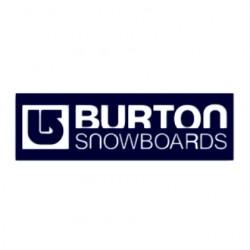 Samolepka snowboarding- logo Burton