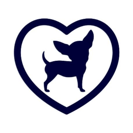 Samolepka na auto-pes LOVE