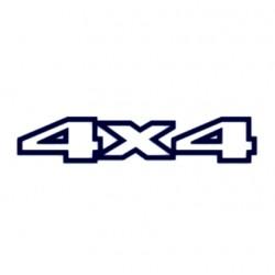 Tuning samolepka na auto- 4x4