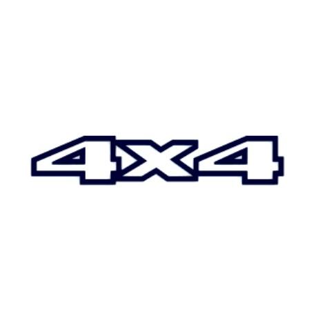 Samolepka na auto- 4x4