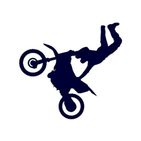 Samolepka na auto-motorky freestyle