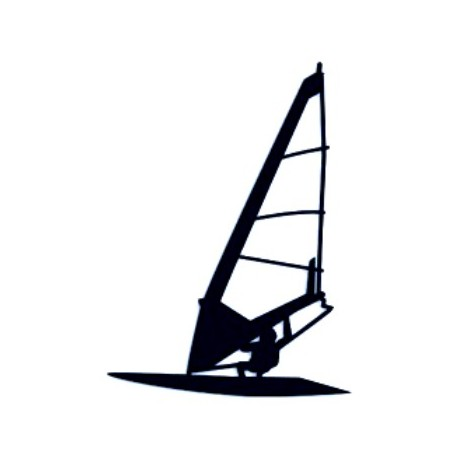 Samolepka na auto-windsurfing 01