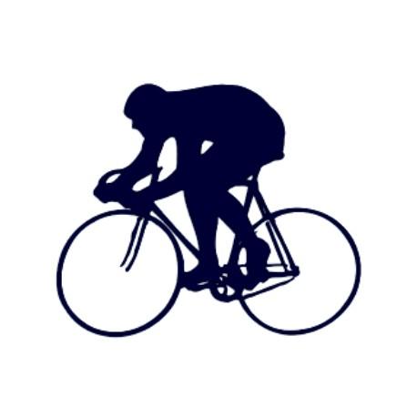 Samolepka na auto- silniční cyklistika