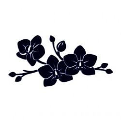 Samolepka na auto - květiny 14