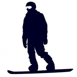 Samolepka na auto-snowboarding 01