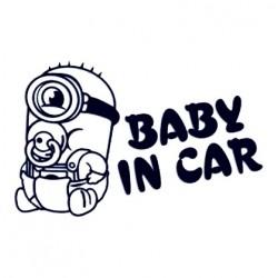 Samolepka na auto se jménem dítěte - Mimoň 03
