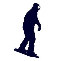Samolepka na auto - snowboarding 06