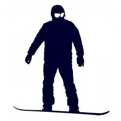 Samolepka na auto - snowboarding 09