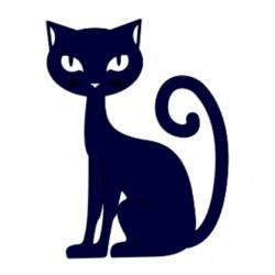Samolepka na auto - kočka 02
