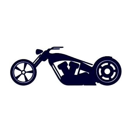 Samolepka na auto - chopper 01