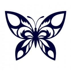 Samolepka na auto - motýl 01